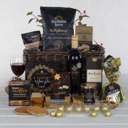 Christmas Cracker Basket Gift Hamper
