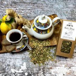 Ginger Lemon Coffee Leaf Tea