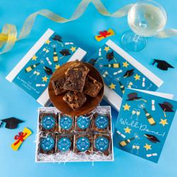 'Graduation' Luxury Brownie Gift