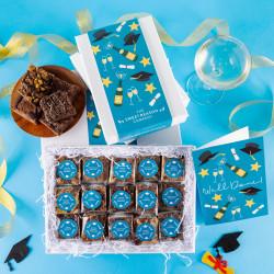'Graduation' Indulgent Brownie Gift