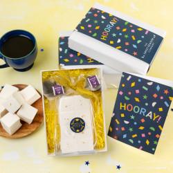 Hooray!' Champagne & Elderflower Marshmallows with Tea