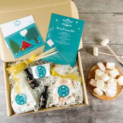 'Camping' Indulgent Marshmallow Toasting Kit & Baileys Gift