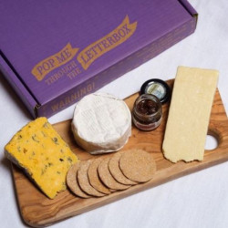 Perfect British Cheeseboard Maxi - Letterbox Gift