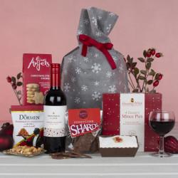 Snowy Christmas Sack Gift Hamper