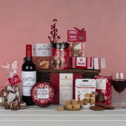 Seasons Greetings Basket Gift Hamper