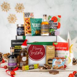 Merry Christmas Gift Hamper - Vegan And Gluten Free