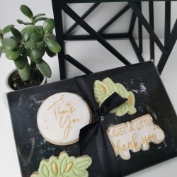 Thank You Iced Biscuit Box (Handpainted)