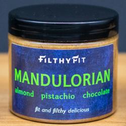 Almond Pistachio Dark Chocolate Butter 190g
