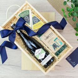 Cheviot White Wine & Cheese Crate