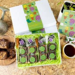 'Gardening' Gluten Free Afternoon Tea for Four Gift