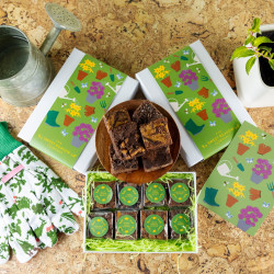'Gardening' Luxury Brownie Gift