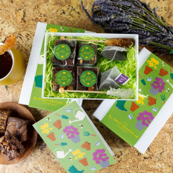 'Gardening' Afternoon Tea For Two Gift