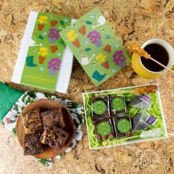 'Gardening' Vegan Afternoon Tea For Two Gift