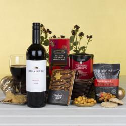 Red Wine Treats Tray Gift Hamper