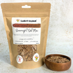 Cacao, Coconut and Walnut Overnight Oat Mix