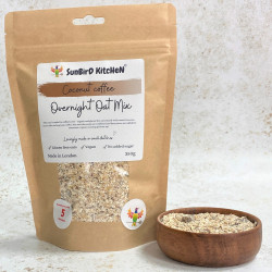 Coconut Coffee Overnight Oat Mix