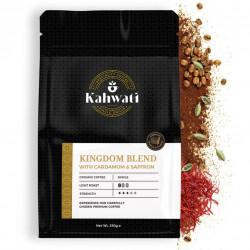 Freshly Roasted | Kingdom Blend - Saffron & Cardamom | Arabic / Saudi Coffee