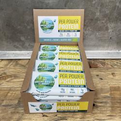 Pea Power Protein Bars, Banana Choc with Peanuts, Box of 16
