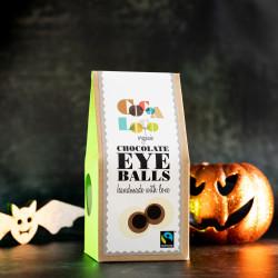 Organic Chocolate Halloween Eyeballs