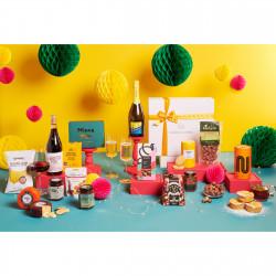Festive Wine & Cheese Hamper Heaven   'Santa's Nice List'