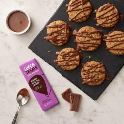 Almond Hazelnut Crunch Carob Chocolate (12 X 40g Bars)