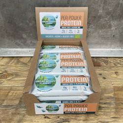 Pea Power Protein Bars, Orange Choc & Almonds, box of 16