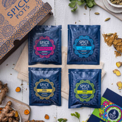 Vegan Letterbox Gift Box for Spice Lovers