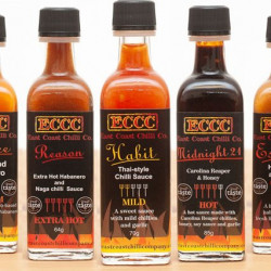 Chilli Sauce Triple – 3x 60ml Miniature Bottles