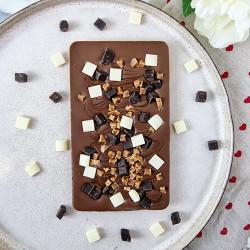 Salted Caramal Fudge Brownie One