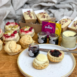 Vegan Afternoon Tea For Four - With Vegan Clotted Cream