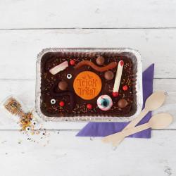 Halloween Brownie Tray