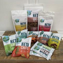 The Wholesome Keto Gift Box - Organic, Vegan, Gluten Free, Low Carb