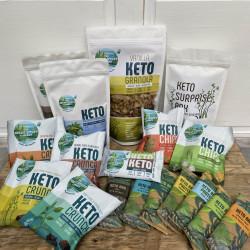 The Keto Surprise Gift Box - Organic, Vegan, Gluten Free, Low Carb
