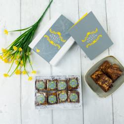 Luxury Peanut Butter Brownie Gift Box