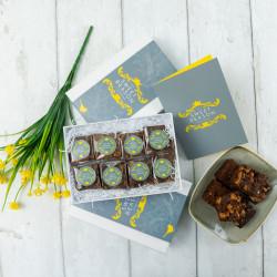 Luxury Salted Caramel Brownie Gift Box