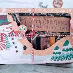 Personalised Christmas Fudge Gift Box
