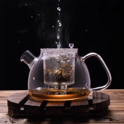 Lazy Pour, Glass Teapot 900ml