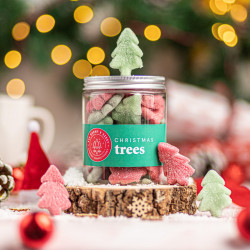 Christmas Trees Strawberry & Apple Flavour Sweets