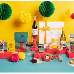 Best Selling Christmas Wine & Cheese Hamper | 'Rebel Without A Claus'