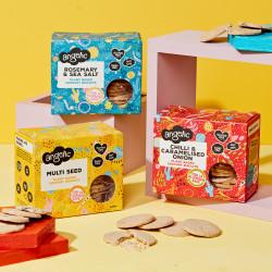 Vegan Savoury Biscuit Bundle (6 Boxes)