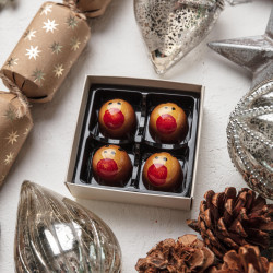 Vegan Christmas Chocolate Reindeers
