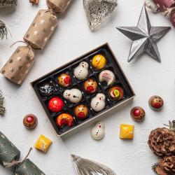 Vegan Christmas Chocolate Selection