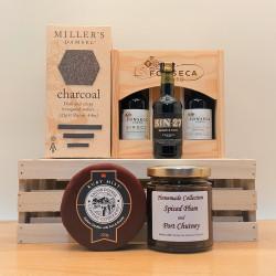 Port and Cheese Mini Gift Box