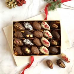 Handmade Chocolate Dates Sharing Gift Box (20 Pieces)