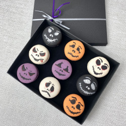 Halloween Decorated French Macarons (Box of 12)