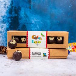 Organic Christmas Pudding Truffles