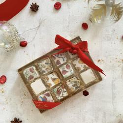 Christmas Nougat medium gift box (18 pieces)