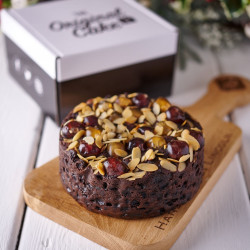Festive Brandy, Fruit and Nut Cake (6 inches)