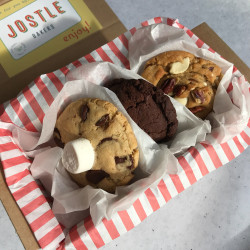 Vegan Mixed Cookie Box - Three Flavours (Box of 6)