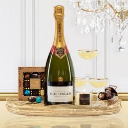 Luxury Bollinger Magnum Champagne Gift Box
